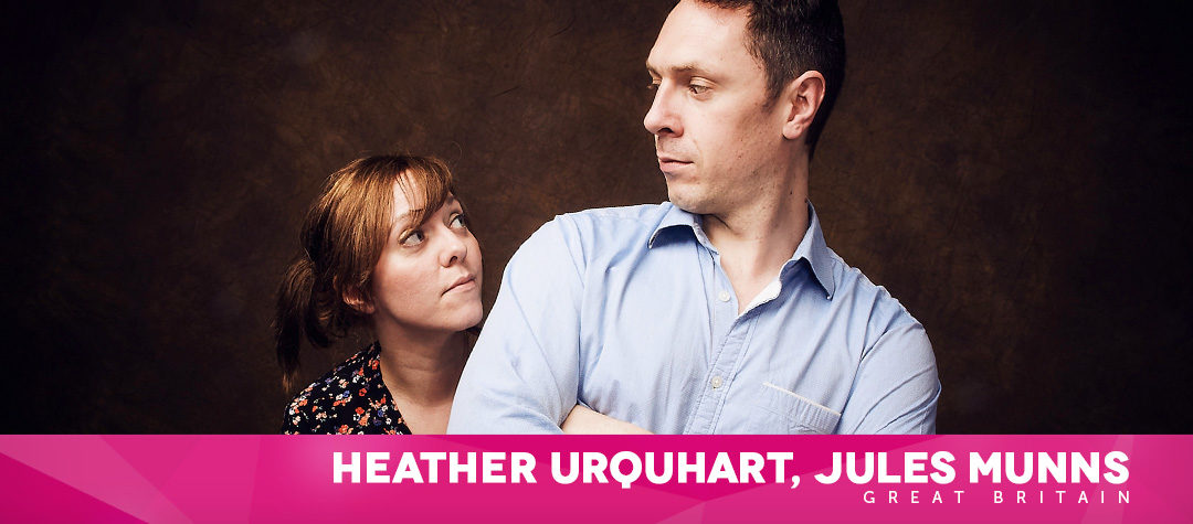 HEATHER URQUHART & JULES MUNNS